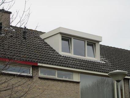 Kleine polyester dakkapel