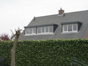 Meerdere dakkapellen op 1 dak